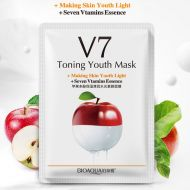 BioAqua V7 Toning Youth Mask - Освежающая маска с экстрактом яблока.