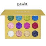 Imagic Beauty Glitter Palette - Глиттерные тени для век 12 цветов.