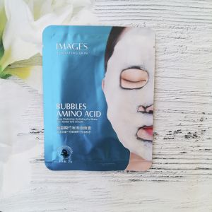 IMAGES Amino Acid Bamboo Charcoal Bubble Mask