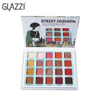 GLAZZI Street Fashion  Палетка теней 20 цветов