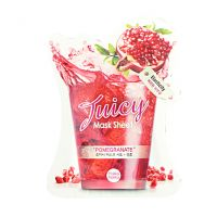 Holika Holika Juicy Mask Sheet Pomegranate - Тканевая маска с гранатом.